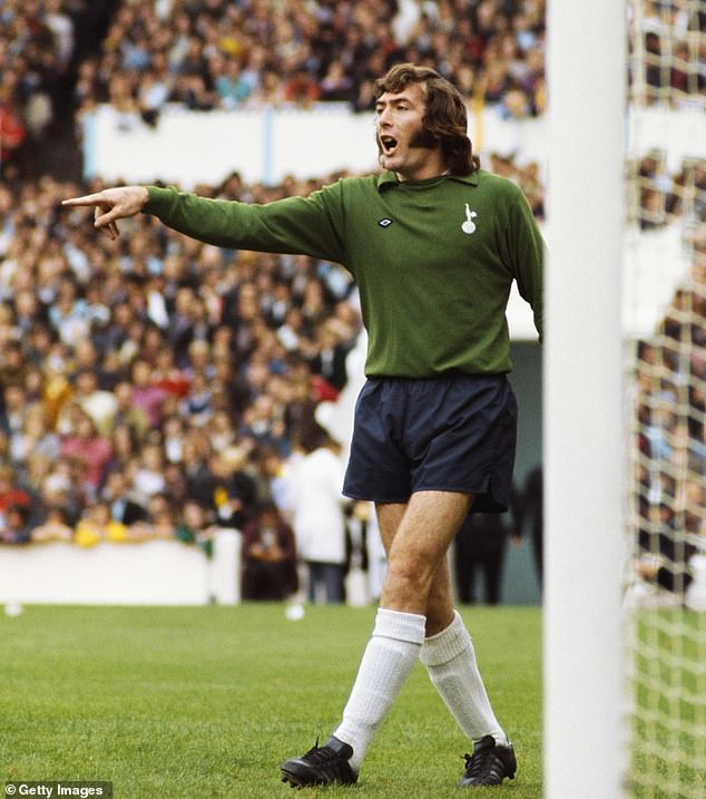 Jennings played for Tottenham from 1964-1977 before he was sold to rivals Arsenal
