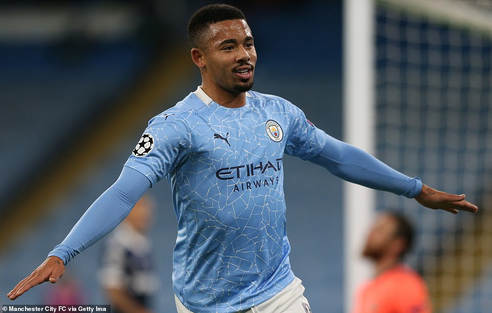 Gabriel Jesus got back on track after returning from injury, scoring an excellent goal from an acute angle with 10 minutes left