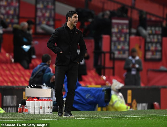 Against Arsenal, United stars were aware that Solskjaer was being outmanoeuvred by Arteta