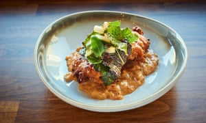 Fourth and Church's fried chicken with kimchi remoulade: 'Dreamy.'