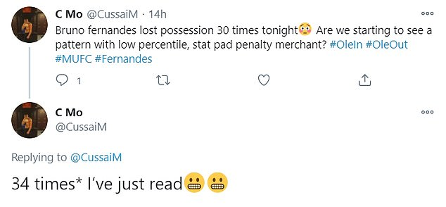 Some football fans took to Twitter to rubbish Fernandes and label him as a 'penalty merchant'