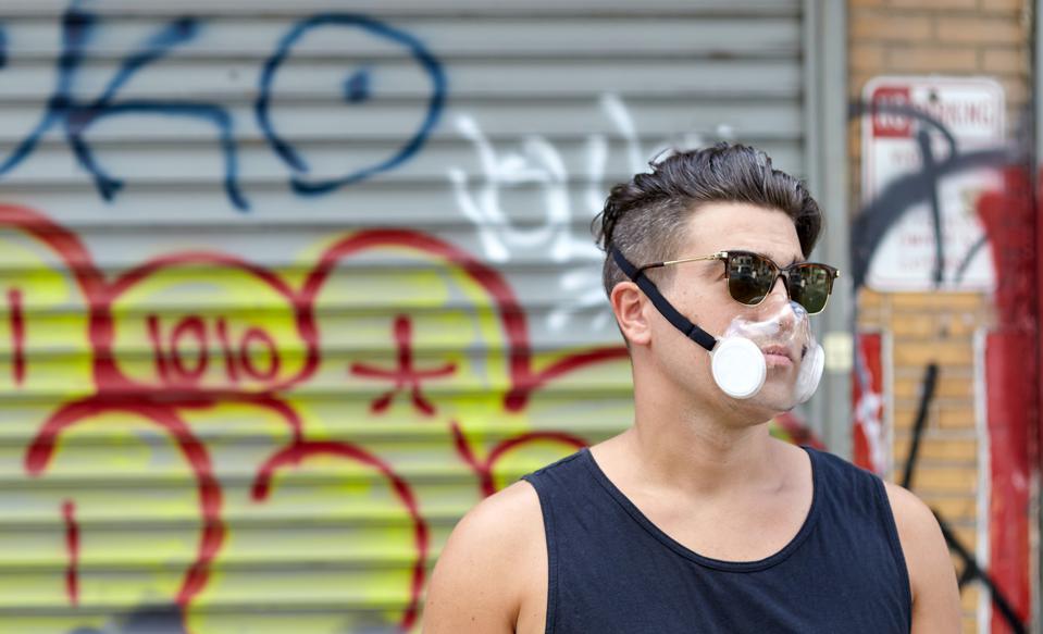 The TrueContour TC1 Mask. Custom, comfortable, protective, transparent, and reusable.