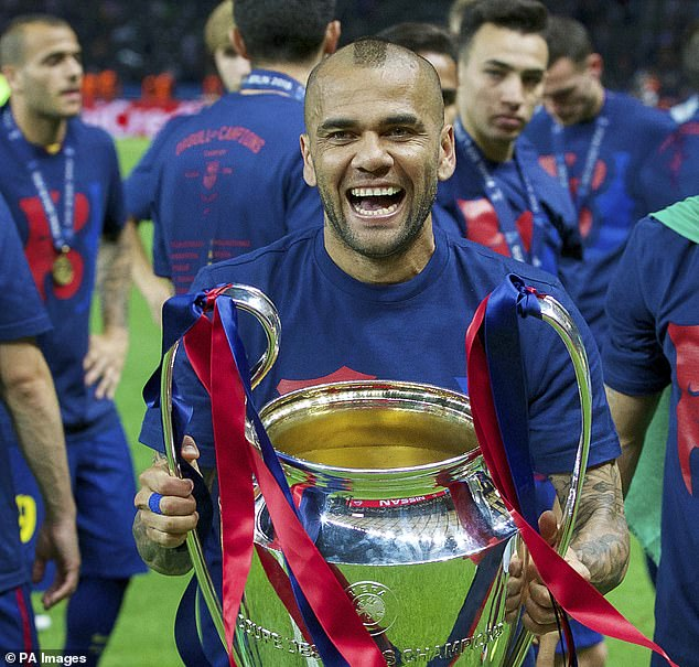 Alves was allowed to leave Barcelona on a free transfer, going on to success in Italy and France