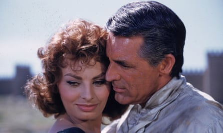 Sophia Loren with Cary Grant in The Pride and the Passion