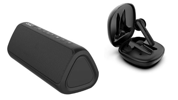 OontZ Angle 3 Series Bluetooth Speakers and Wireless Earbuds