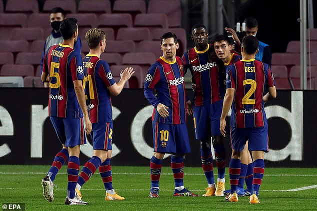 Barcelona's Champions League clash on Wednesday is under serious threat of being called off