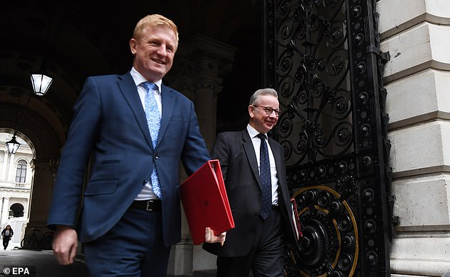 Culture Secretary Oliver Dowden insists that football has the resources to help stricken clubs