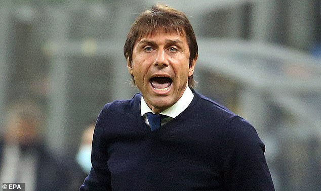Madrid take on Inter, managed by Antonio Conte who has been linked with the Real hotseat
