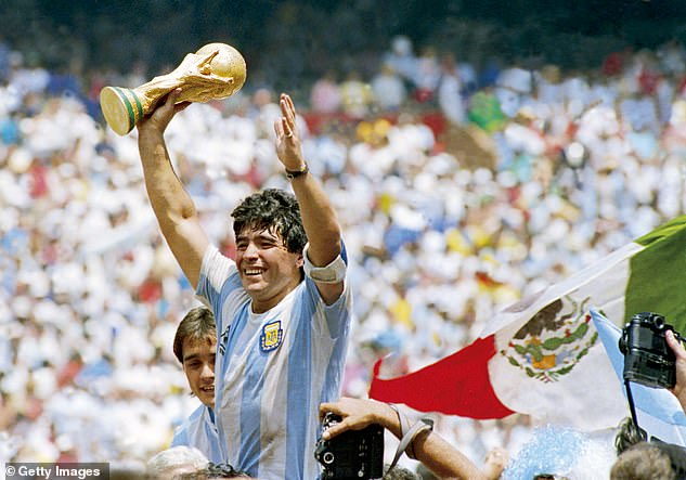 Maradona is a football icon and Argentina legend and thoughts will be with him