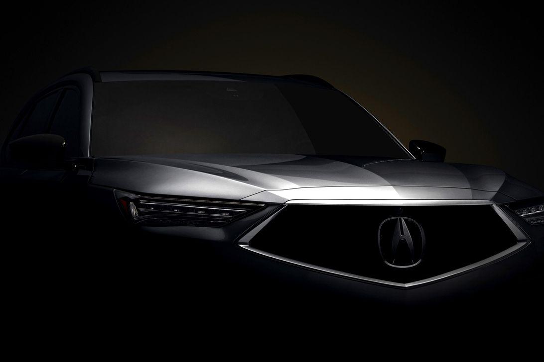 2022 Acura MDX Teaser