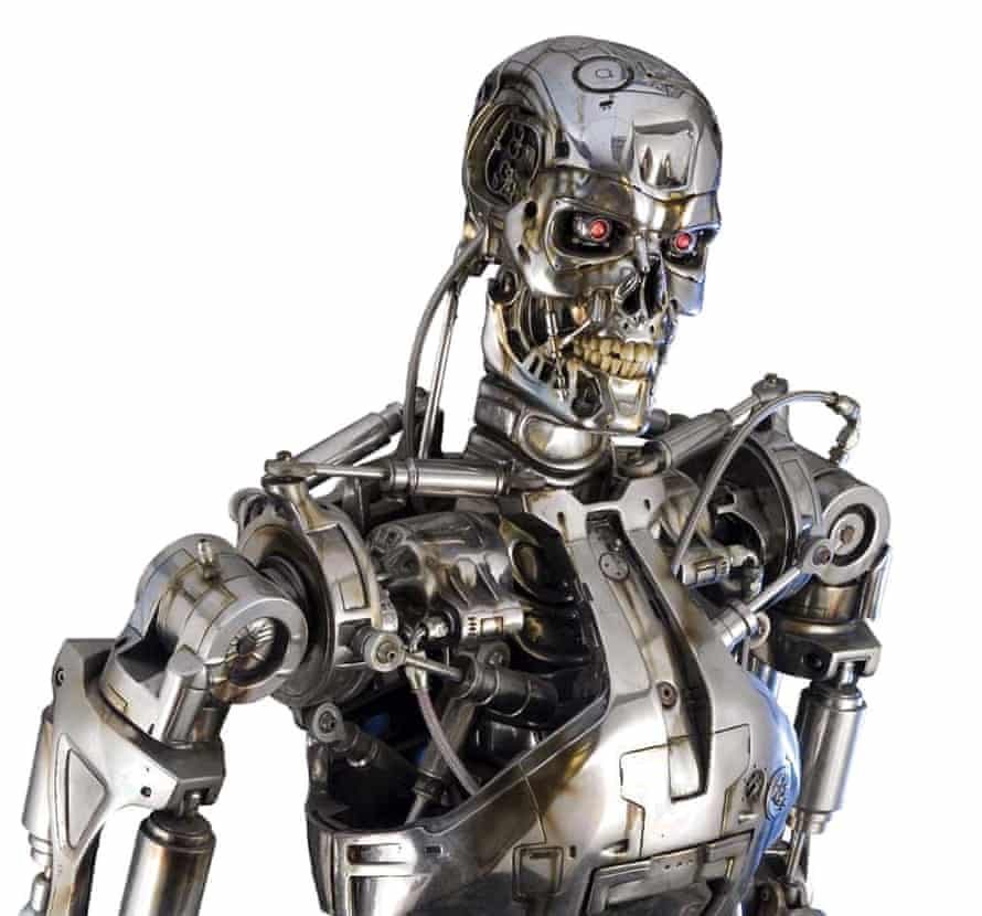 The 'T-800 Endoskeleton' from 1991 film Terminator 2, offering a less than benign vision of the robot age.