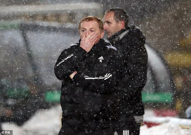 Celtic's 2-2 draw with Livingston left the champions 20 points behind arch-rivals Rangers