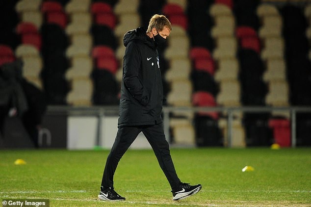 Graham Potter described Brighton's FA Cup third-round win over Newport as 'traumatic'