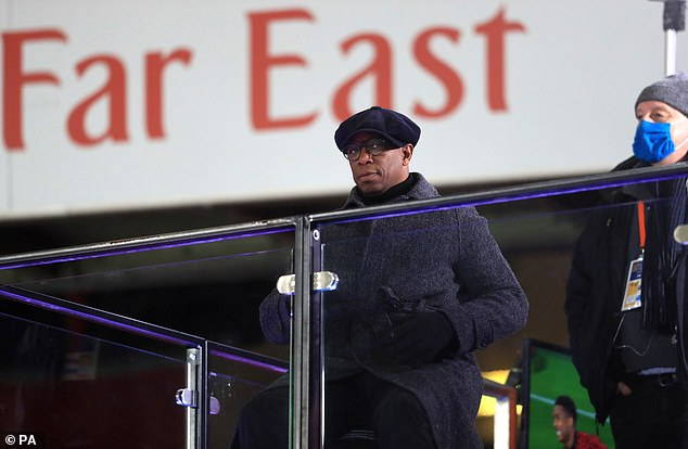 Arsenal won against Newcastle, but Ian Wright wasn't impressed with some performances