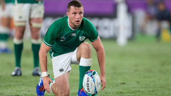 Jack Carty's Rugby World Cup dream did not go to plan. File photograph: Getty Images