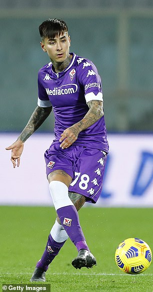 Erick Pulgar has dropped to the bench under Cesare Prandelli at Fiorentina