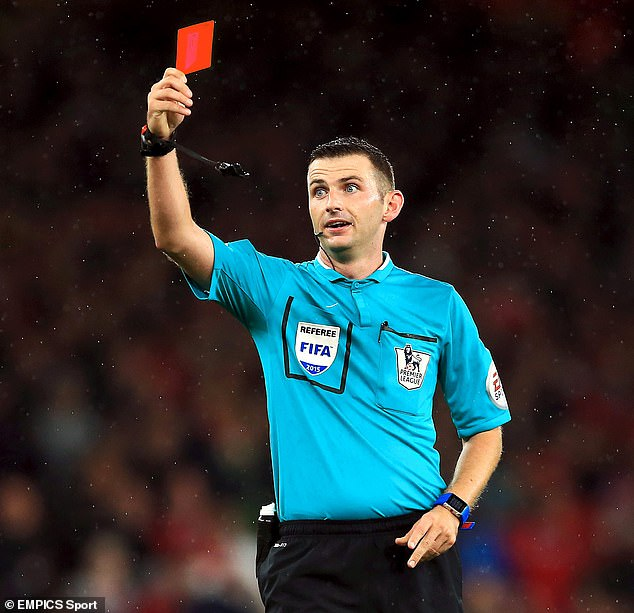 In a rare interview Michael Oliver spoke with Mail on Sunday'schief sportswriter Oliver Holt