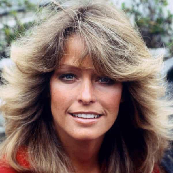 Farrah Fawcett in 1978.