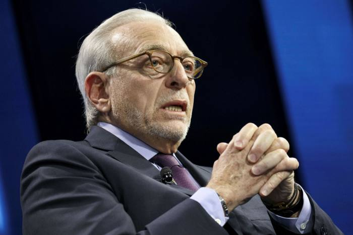 Activist investor Nelson Peltz said he was 'sorry' he had voted for Mr Trump in November