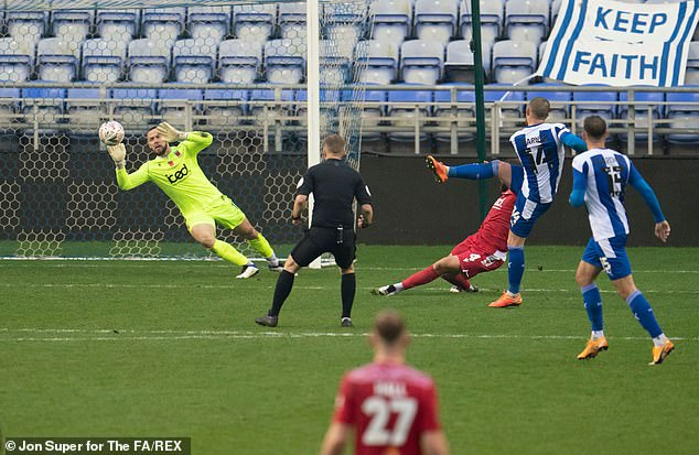 Urwin also starred as Chorley defeated Wigan Athletic in the first round of the competition