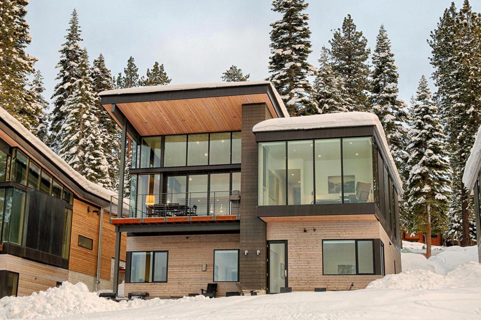 A contemporary home in Truckee.