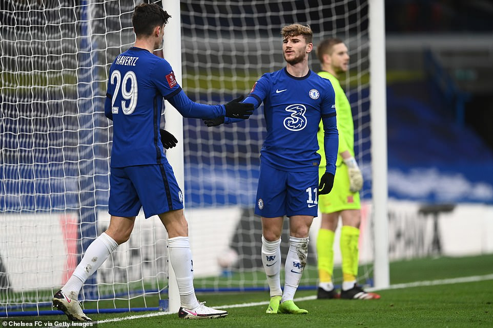 Summer signings Timo Werner and Kai Havertz got on the net to end long painful goal droughts in front of goal