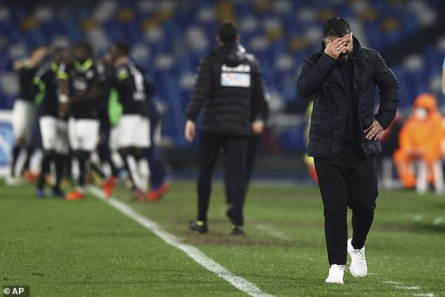 Gennaro Gattuso's (right) Napoli show promise but lack consistency in their results