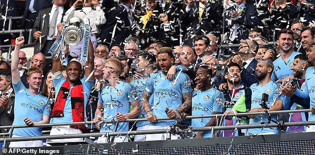 City have won the FA Cup six times in their history - with the last coming in the 2018-19 season
