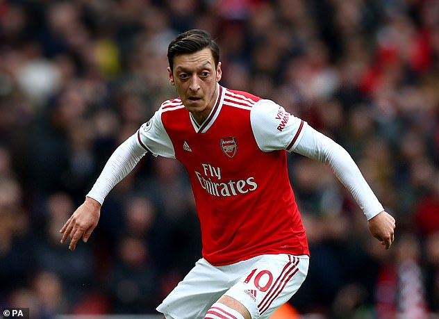 Ozil, who has not been included in the 2020-21 Premier League side, could leave in January