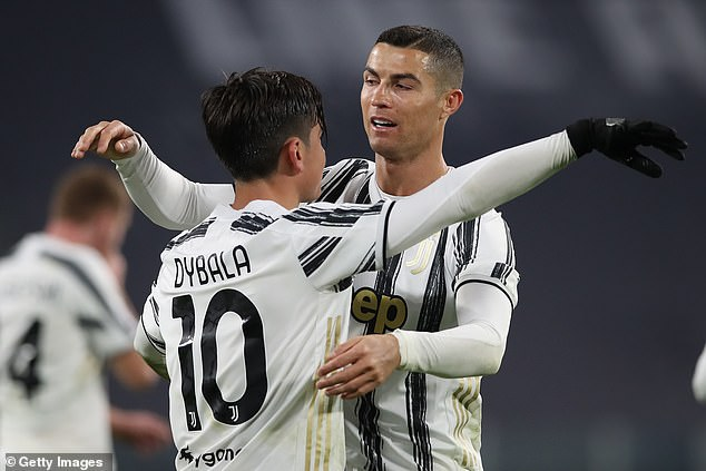 Cristiano Ronaldo (right) and Paulo Dybala (left) are clicking at the right time for Pirlo's side