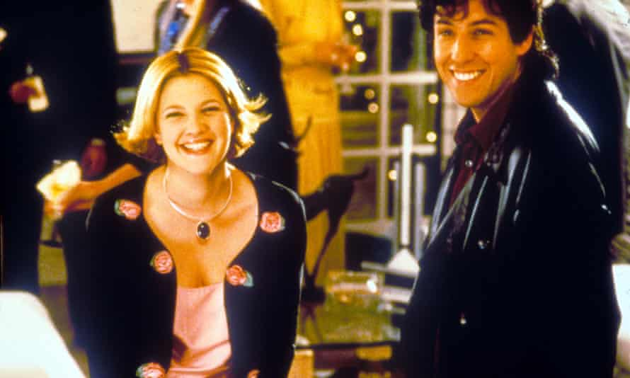The Wedding Singer, starring the very blond Drew Barrymore and Adam Sandler.