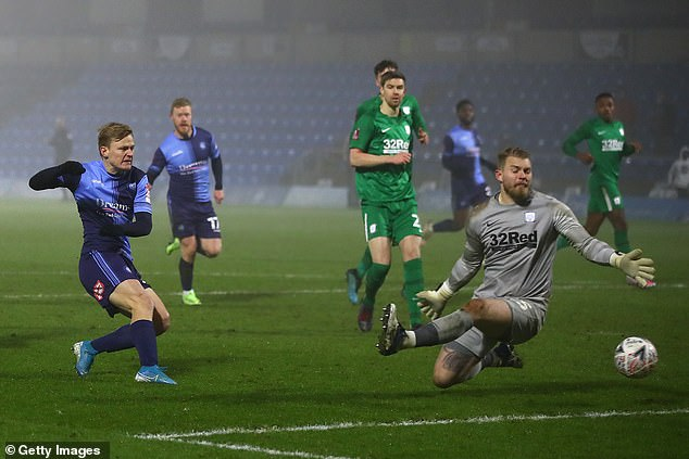 Wycombe netted four past Championship opposition Preston to reach the fourth round