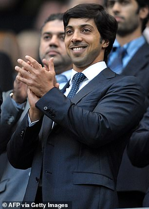 Sheikh Mansour bought the trophy at auction