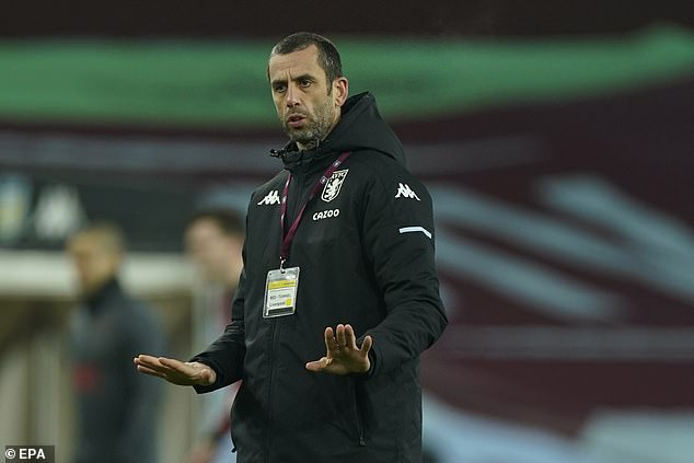 Delaney said his Villa side were excited when they saw the Liverpool teamsheet pre-kick-off