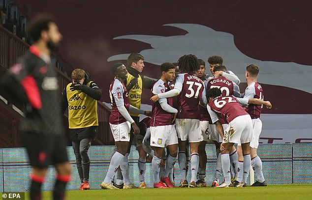 Aston Villa were forced to field a team of academy players after a Covid outbreak in first team
