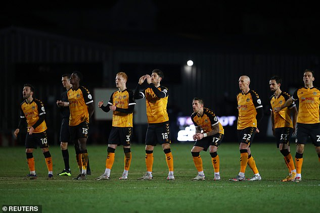 Newport battled brilliantly, with their defence staying solid throughout in the tight clash