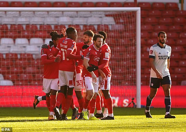 Lyle Taylor's superb early strike proved the difference against Cardiff at the City Ground