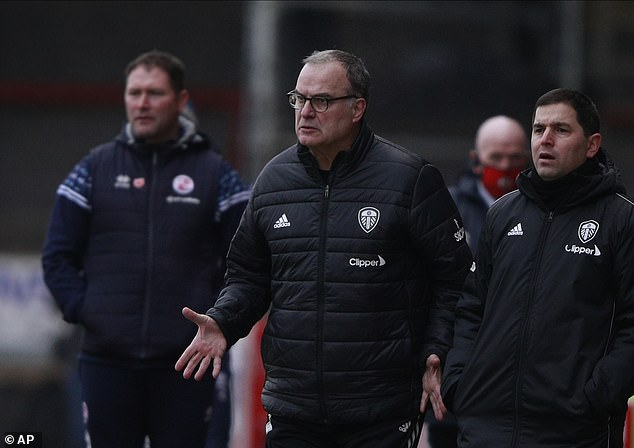 Bielsa rued Leeds' failure to effectively make use of their long periods of possession on Sunday