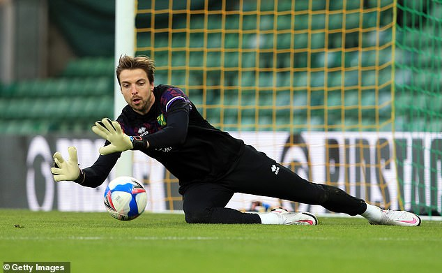 Goalkeeper Tim Krul went on social media to confirm he was one of the players infected