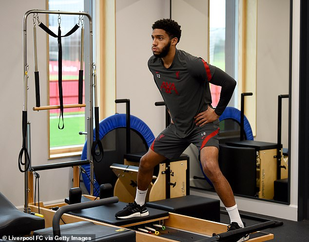 Gomez has not played since the start of November and is now building strength up in his knee