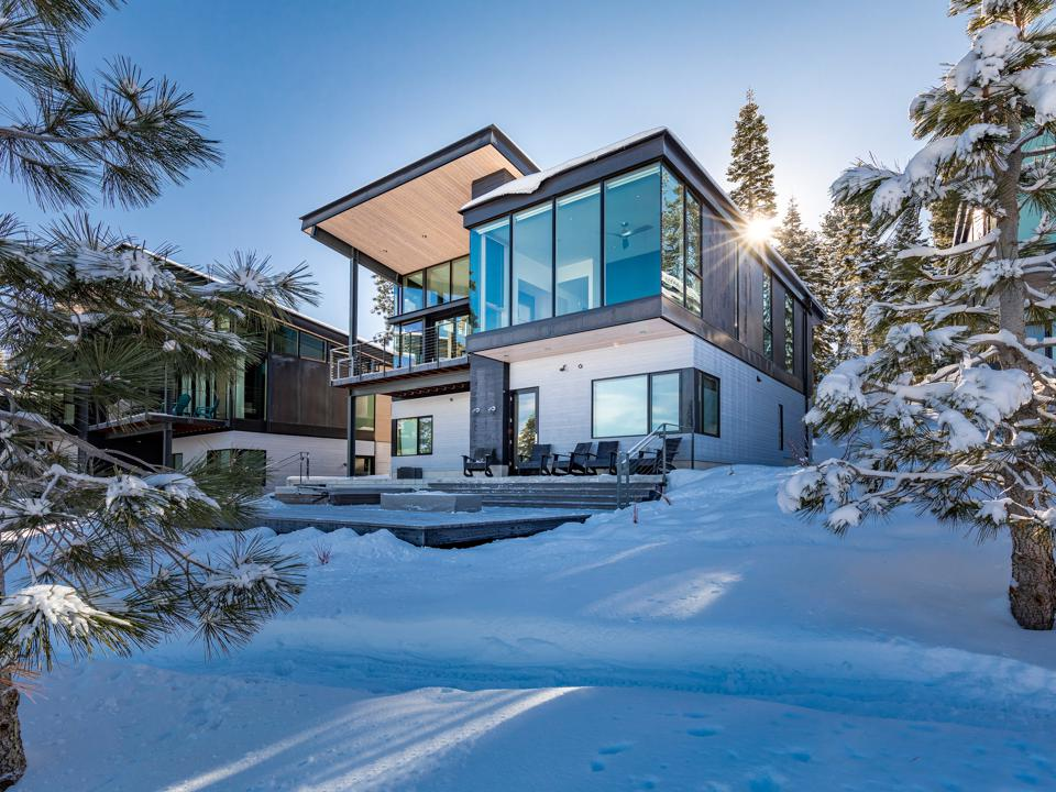 A luxury home in Truckee.