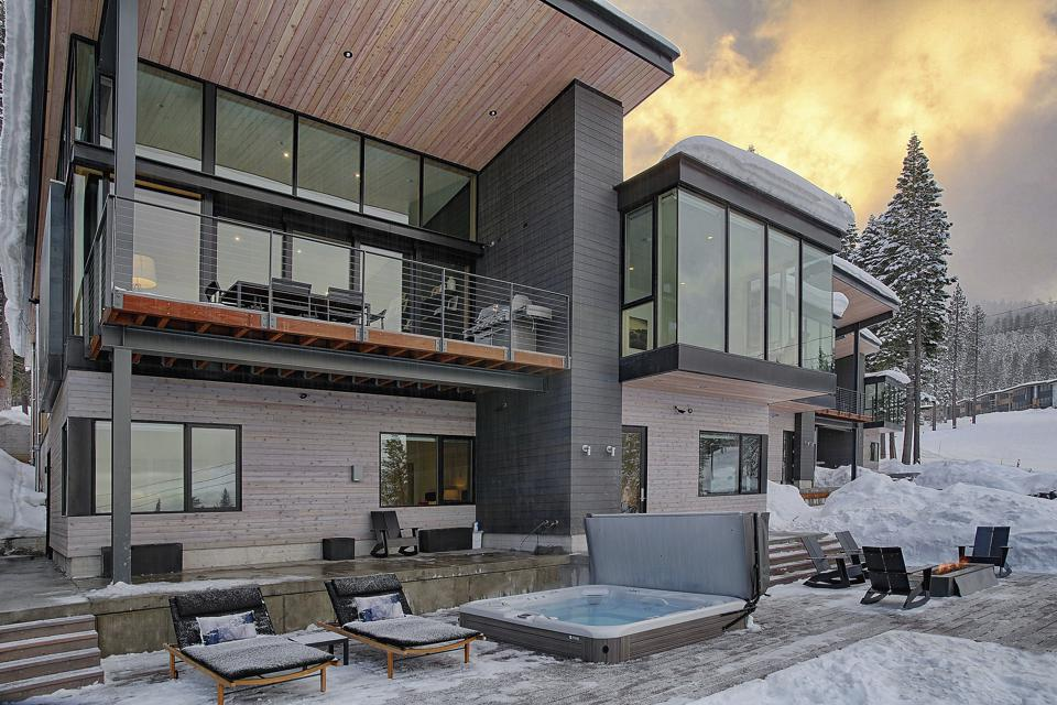 A home in Truckee.