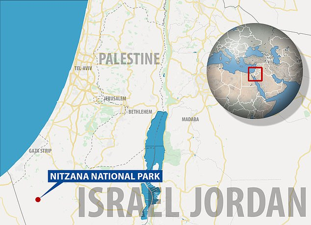 Located in the Negev desert near the Egyptian border, Nitzana is considered a key site in the transition between the Byzantine and the Early Islamic periods