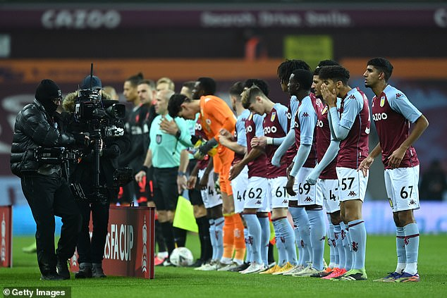 The average age of the Villa squad was just while captain Dominic Revan is just 20-years-old