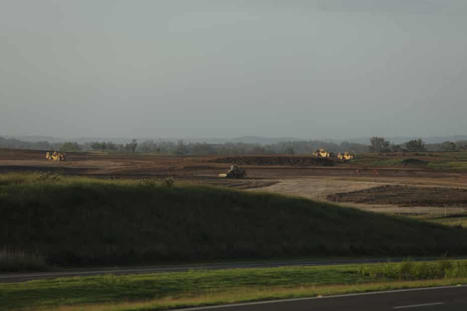 The western Sydney airport site