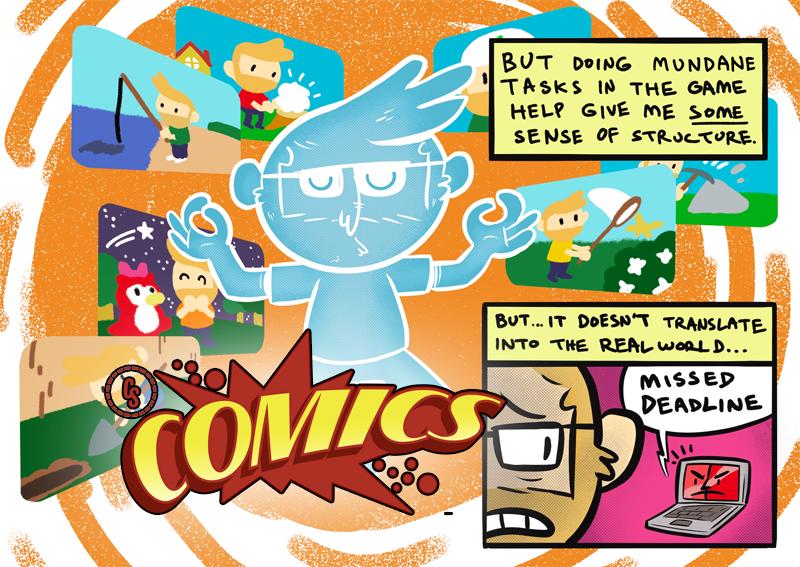 CS Comics: Animal Crossing Got Me Through the Pandemic