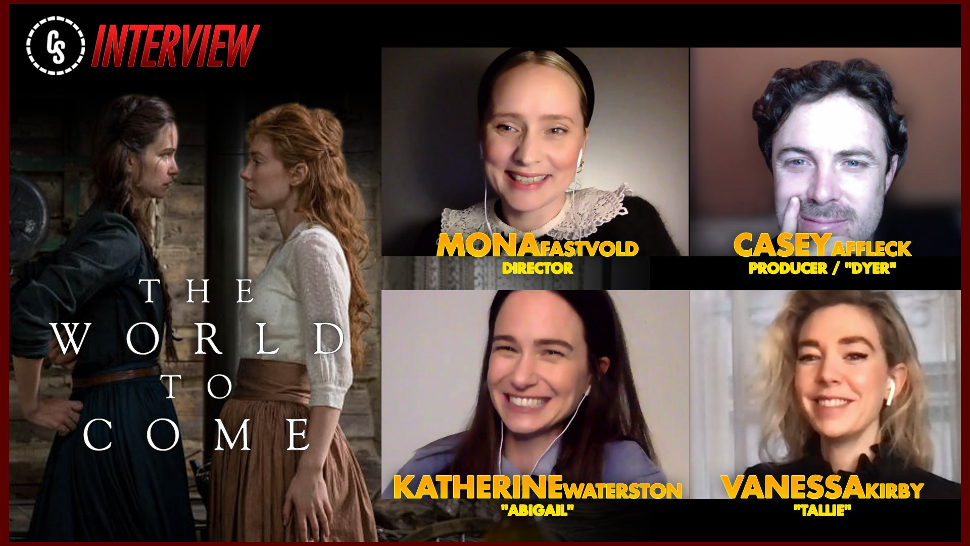 CS Video: The World to Come Interviews With Director & Stars