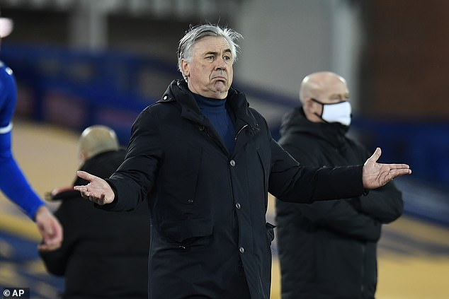 Carlo Ancelotti's Everton side had no answers against the Premier League giants
