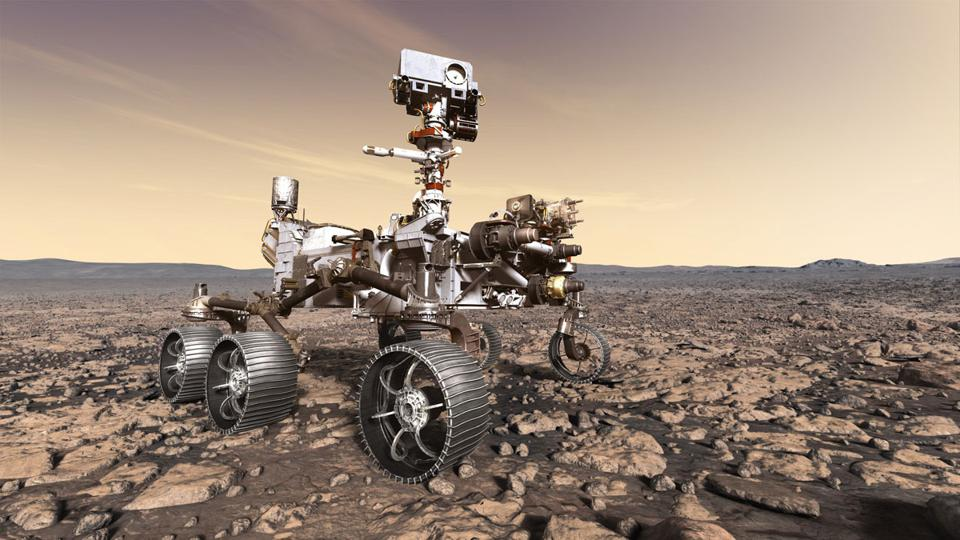 Otherworldly motoring has come a long way since the original Lunar Roving Vehicle traversed the Moon in the 1970's.