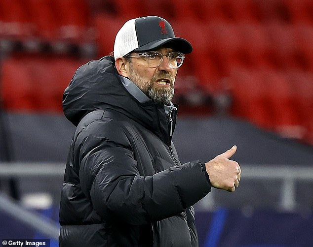 Jurgen Klopp hailed Liverpool's mentality after his side secured a 2-0 victory over RB Leipzig